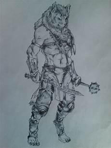 Malvorlagen Wolf Warrior Warrior Wolf By Rebecalaloca On Deviantart