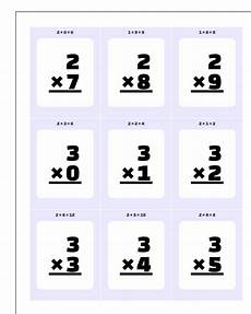 free printable math flash cards multiplication 10822 multiplication flash cards
