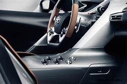 Toyota FT 1 Version Two Brings Sexy Gloss Grey Aero