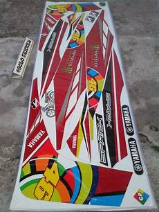 jual striping stiker lis motor variasi yamaha jupiter mx lama mx old ojmx 46 1 di lapak solo