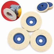 polieren disks winkelschleifer filz 3 x schleifen blau und