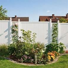 Sichtschutzzaun Aus Kunststoff - traumgarten sichtschutzzaun kunststoff komplettset aus