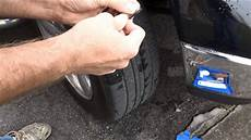 how to fix a flat tire nail or removal