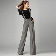 pantalon bretelle femme find more capris information about fashion winter
