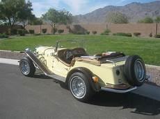 1929 mercedes gazelle roadster replica kit car