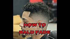 how to do a bald fade with longer hair mens haircut wahl clipper youtube