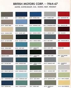 version of bmc paint color codes