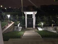 illuminazione casa esterno lioncini da giardino 200 lumen mini minimalism i