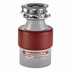 kitchenaid 1 2 hp continuous feed garbage disposal
