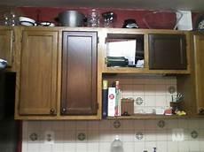 kimboleeey restaining kitchen cabinets