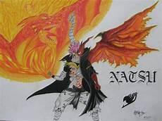 natsu dragneel dragon form by squid with pen
