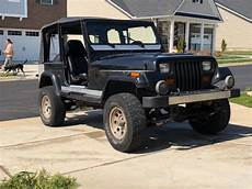 car maintenance manuals 1994 jeep wrangler interior lighting 1994 jeep wrangler yj sahara 4x4 black with chrome body armor 4inch lift for sale photos