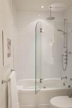 Duschabtrennung Badewanne Glas - greg rob s sky suite house tour