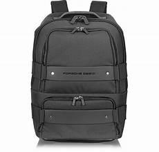 porsche design backbag black backpack carry on
