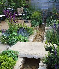 Gartengestaltung Ohne Rasen - der garten ohne rasen terasse garten brunnen