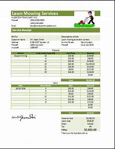 pest receipt template lawn mowing receipt template at receipts templates