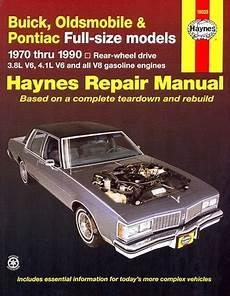 book repair manual 1990 buick estate auto manual buick olds pontiac full size repair manual 1970 1990 haynes
