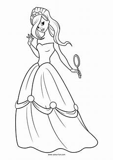 Ausmalbilder Prinzessin Blumen Princess Ausmalbilder Prinzessin Ausmalbilder Ausmalen