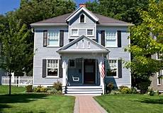 All American Home Stock Image Image Of Green Exterior