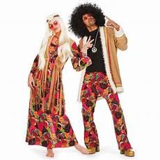 Ideen Für Kostüm - herrenkost 252 m hippie mantel schlaghose bunt muster