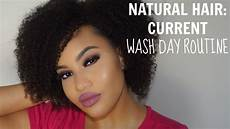 natural hair my wash day routine naptural elenore youtube