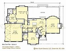 cotswold cottage house plans new south classics fireside cottage 3