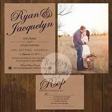 rustic wedding invitations country wedding invitations