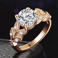 leaves wedding ring for 2018 new leaf shape wedding ring classic dimond engagement ring