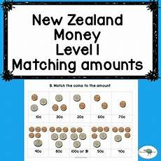 free printable money worksheets nz 2260 new zealand money level 1 matching amounts activities students and math