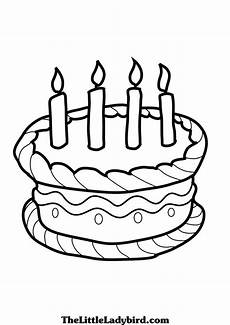 Malvorlagen Cake Birthday Cake Drawing Images At Getdrawings Free