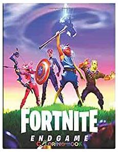Malvorlagen Fortnite Io Fortnite Coloring Book 50 Coloring Pages For And