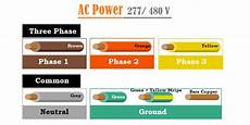 277 Volt Wiring Color Code Wiring Diagram