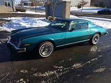 books about how cars work 1977 chevrolet camaro parking system 1977 camaro lt 39k original miles teal and white cruise works no reserve for sale in cottage