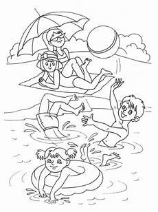 Ausmalbild Sommer Grundschule Ausmalbilder Sommer Kostenlos Malvorlagen Zum Ausdrucken