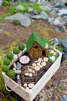 mini garten selber machen diy garden and house tutorial sew much ado