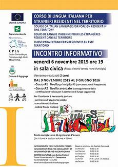 corso italiano per carta di soggiorno corsi di lingua italiana pegognaga 2015 centro