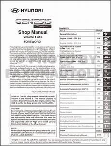 how to download repair manuals 2010 hyundai genesis coupe electronic valve timing 2010 hyundai genesis coupe shop manual 3 volume set original repair service book ebay