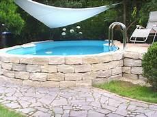 Swimmingpool Selber Bauen Styroporbecken Komfort Plus
