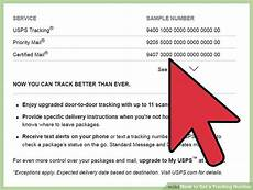 where is my usps tracking number on my receipt 3 ways to get a tracking number wikihow