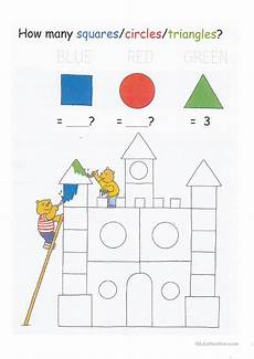 shapes worksheets for esl students 1103 colors shapes counting to 20 and letter tracing worksheet for learners worksheet