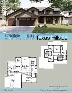 texas tuscan house plans texas hillside 1 5 story craftsman house plan tuscan