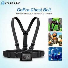 Puluz Adjustable Chest Belt by Puluz Elastic Mount Belt Adjustable Chest For Gopro