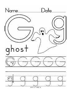 letter g worksheet for kindergarten 23487 alphabet letter g ghost preschool lesson plan printable activities and works alphabet