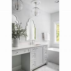 this bathroom is simple classic beautiful the boys are getting a gray vanity in their