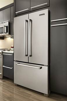 Kitchenaid Counter Depth Refrigerator by Kitchenaid Kfcp22exmp Pro Line Series 21 8 Cu Ft