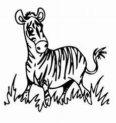 Bilder Zum Ausmalen Zebra Ausmalbild Tiere Zebra Kostenlos Ausdrucken