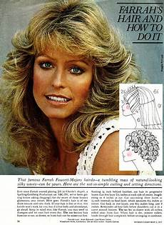 farrah haircut instructions and diagram farrah fawcett forever an icon kelli s blog