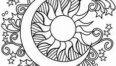 sun moon drawing free on clipartmag