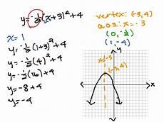 write equation of parabola in vertex form calculator tessshebaylo