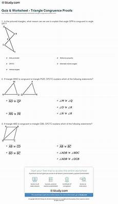 geometry worksheets triangle congruence proofs 903 geometry cpctc worksheet answers key excelguider